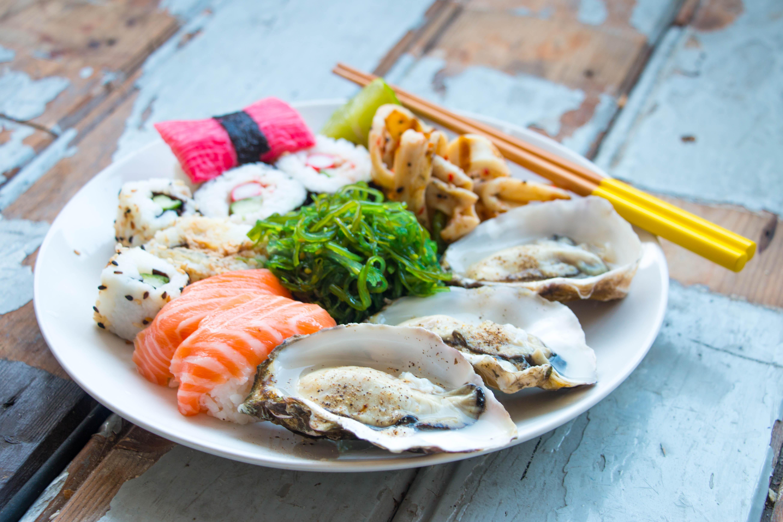 Sushi & Oesters // Rosalie Ruardy (Blog)
