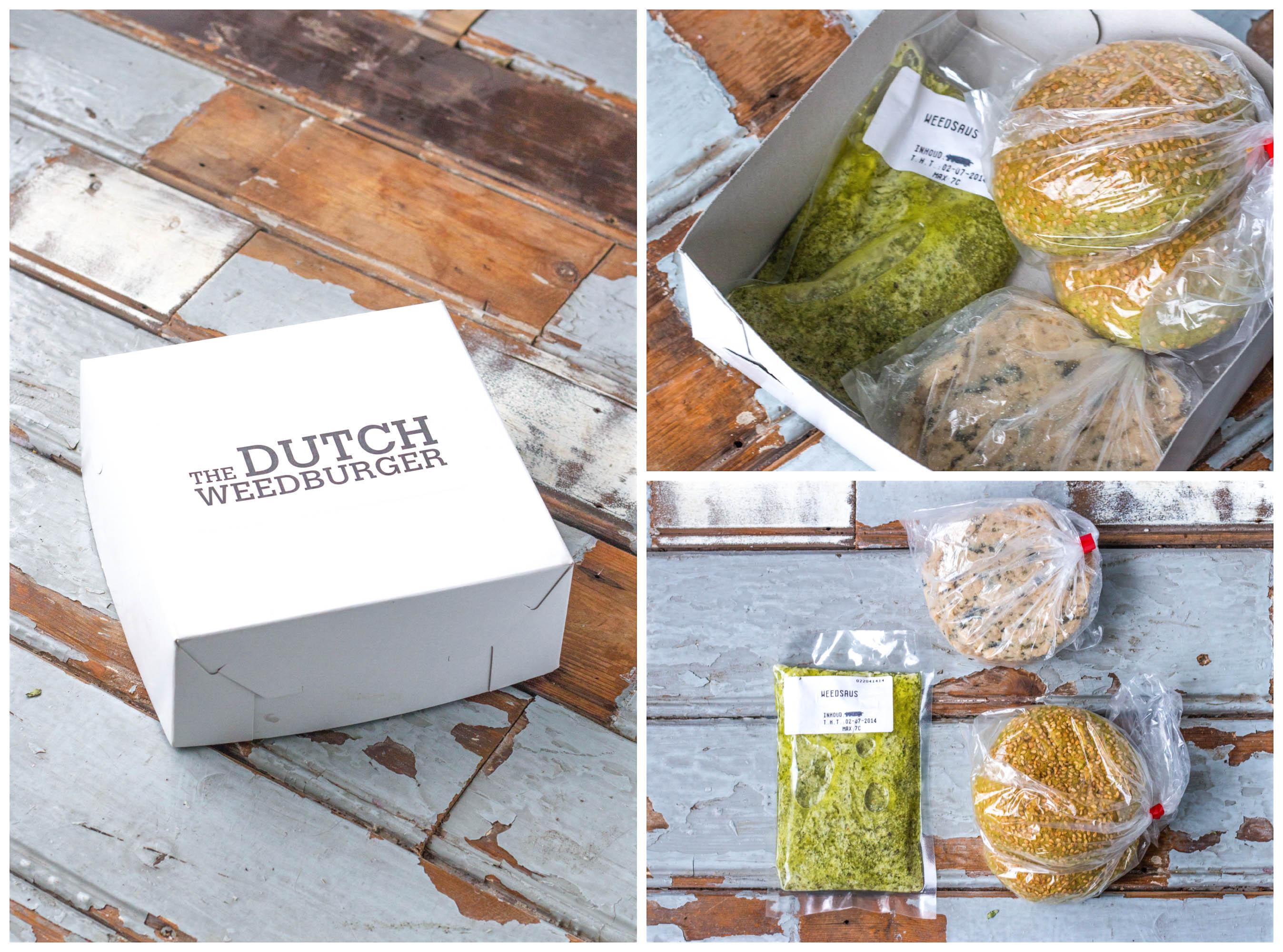 The Dutch Weed Burger DIY Kit