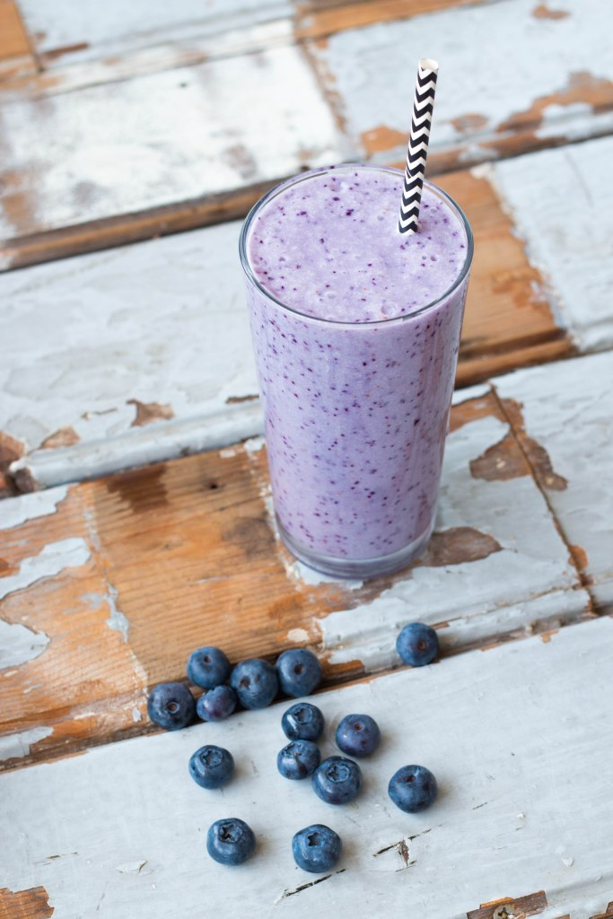 Blueberry Pina Colada Mocktail // Fairminds Mocktailkit