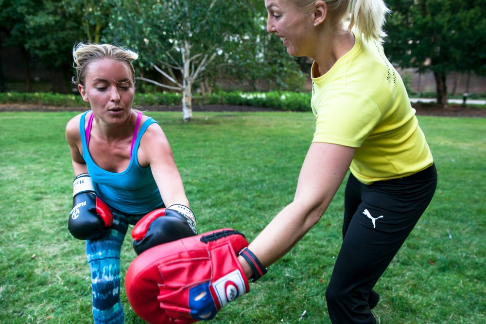 Rosalie en Claudia // Personal Training Sessies
