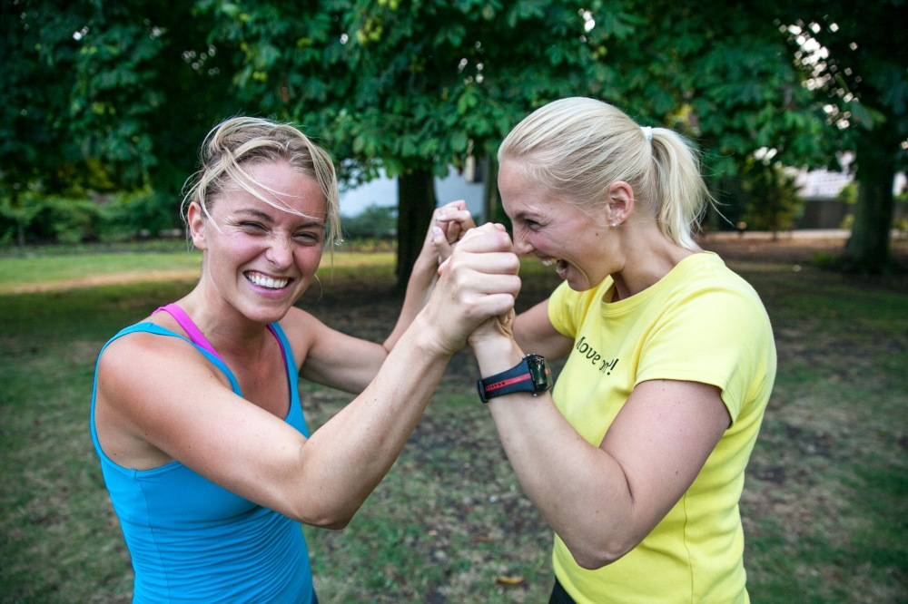 Rosalie & Claudia // Personal Training Sessies
