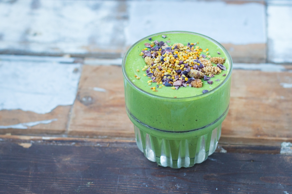 The Perfect Green Smoothie Breakfast