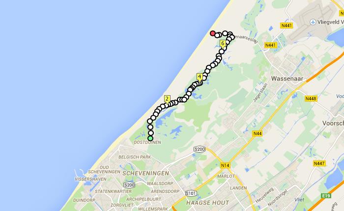 Favoriete hardlooproutes in Den Haag