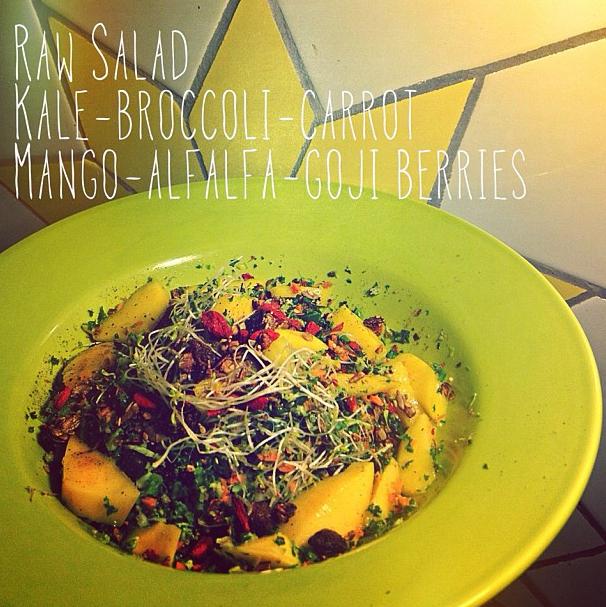 Raw salad